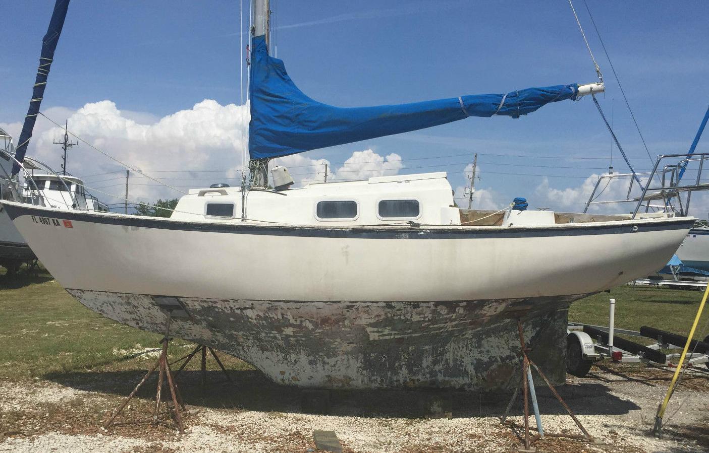 Sold 1966 Bristol Coursair Sail Star 24 Sailboat