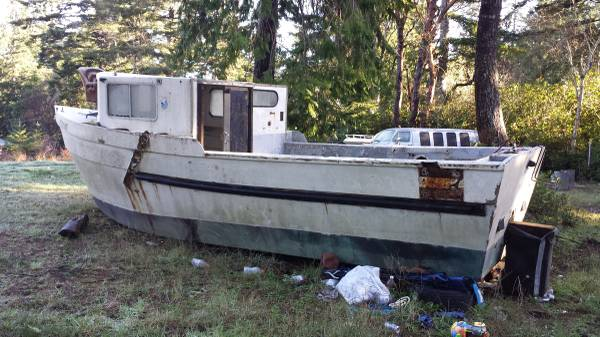 Free 25 foot boat OR