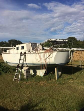 28 foot sailboat