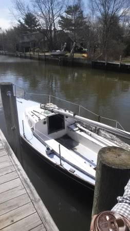 20 Foot Sailboat