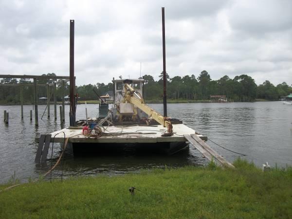 Pontoon Barge 22ft X 41 ft