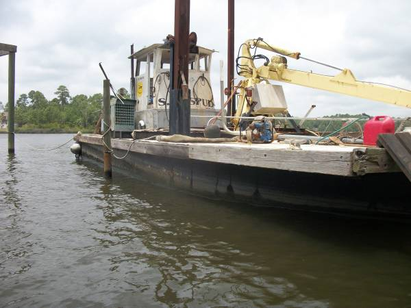 v bow point free barge