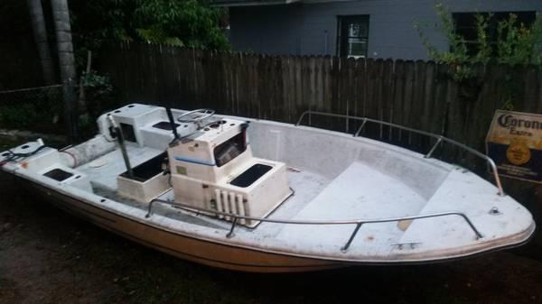 Gone - Free Boat 19' center console (Sarasota FL) - Free-Boat.com