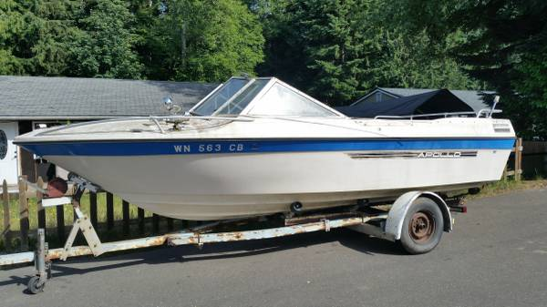 18 foot apollo powerboat free