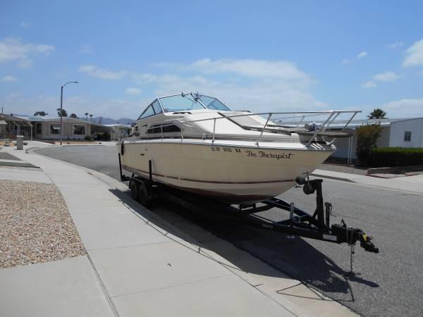 1985 Sea Ray 28' boat FREE