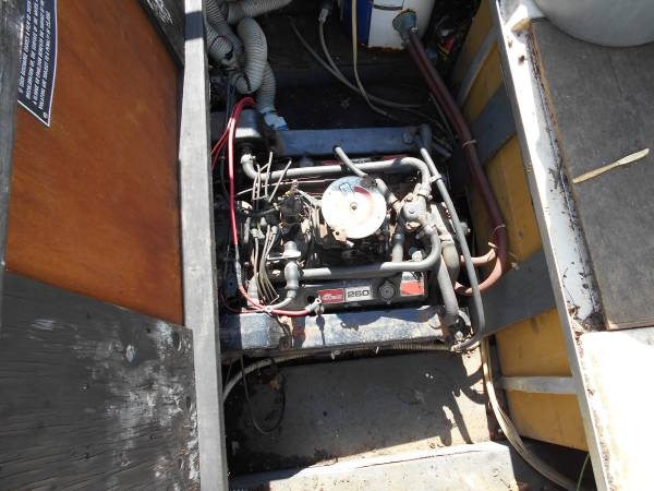 Free good engine with boat