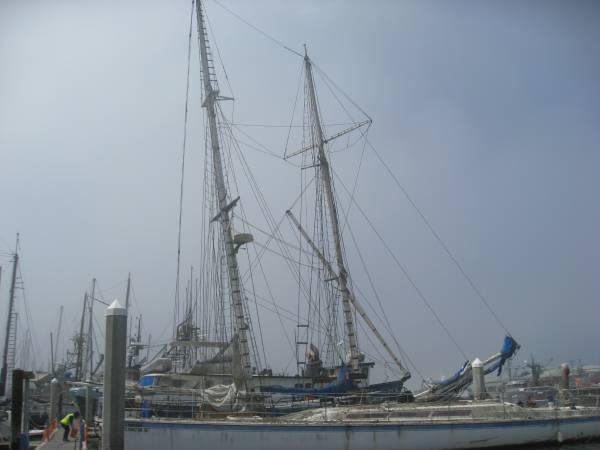 Brigantine Schooner mast profile