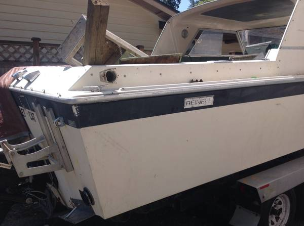 Free boat with trailer1