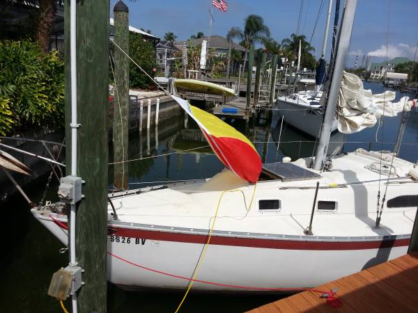 Free Irwin 28 sailboat