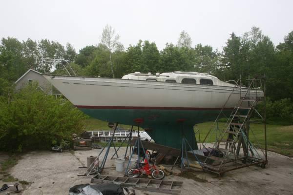Free Sailboat - needs work