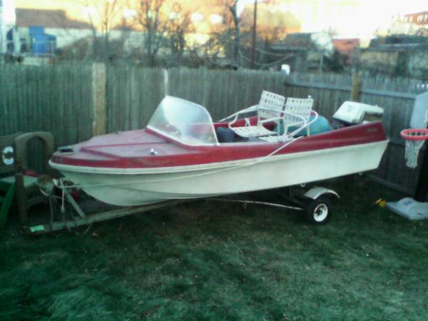 Free boat no trailer Millford