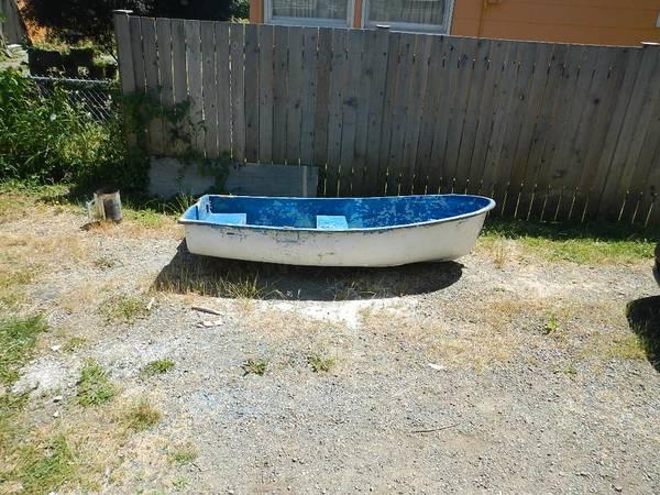 Free row boat