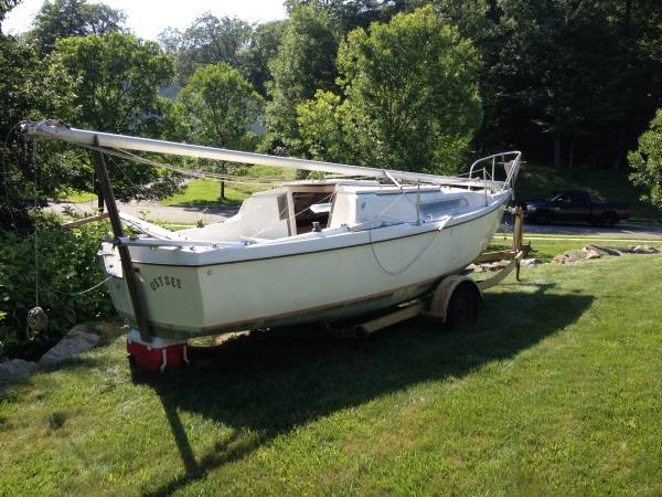 Gone 24 Ft Sailboat Complete With Trailer Byram Nj