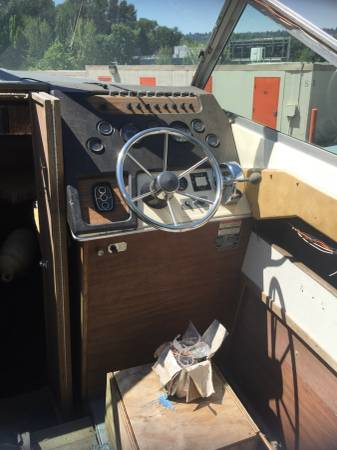 Free powerboat steering