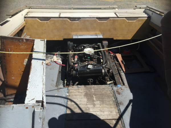 Free powerboat 1977 Sea Ray 24' Cabin Cruiser