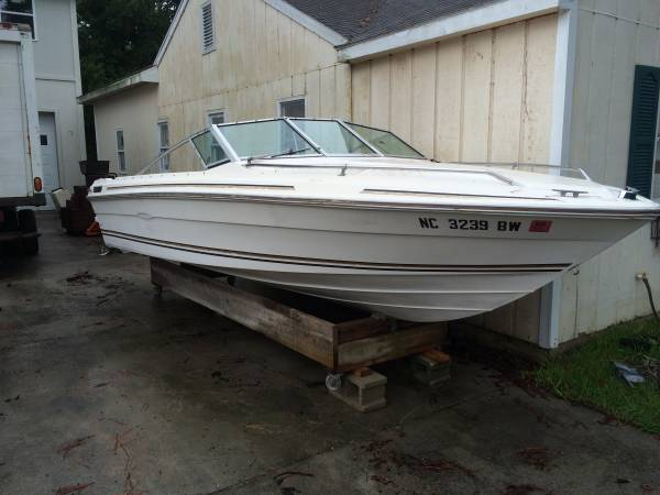 18' Sea Ray Boat starbird