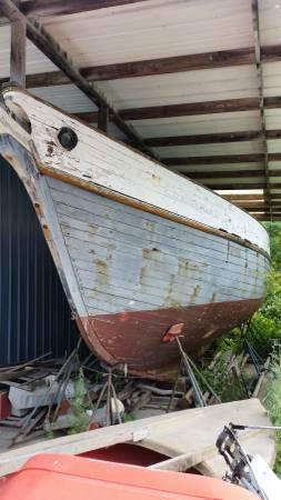 ROSSBURGH 46 PRIVATEER SAILBOAT hull