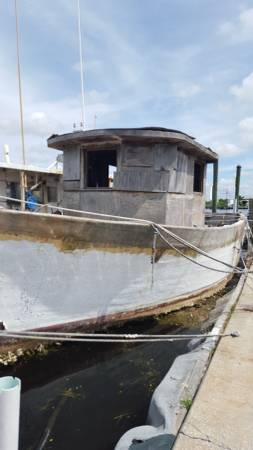 42 foot commercial fishing boat