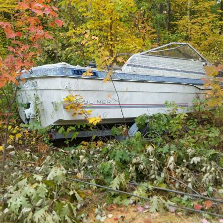 Free bayliner boat and trailer