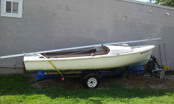 Complete free sailboat
