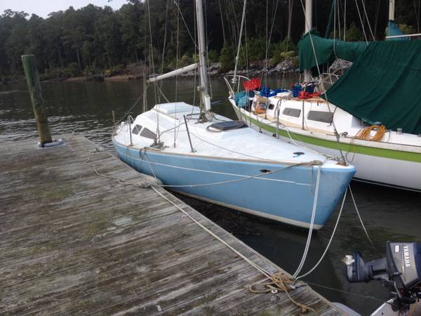 Free Morgan 27 sailboat