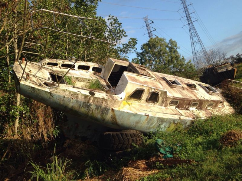 Free project boat steel