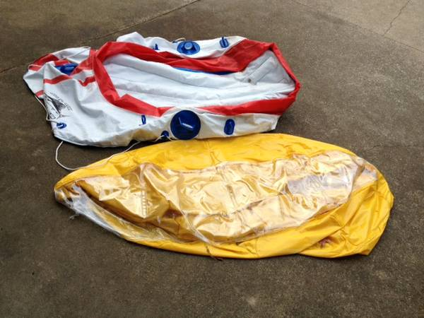 Free inflatable boat and toy