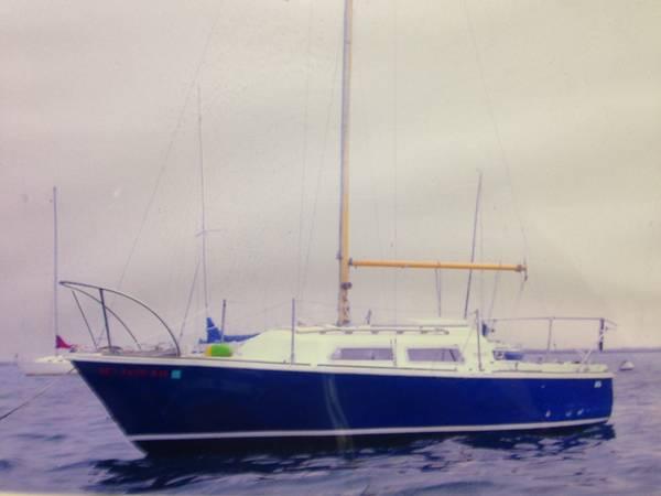 Oday 22 ft sailboat