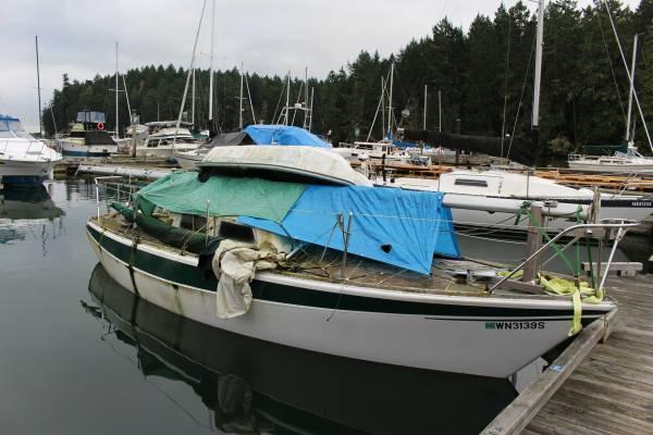 26' Haida sailboat