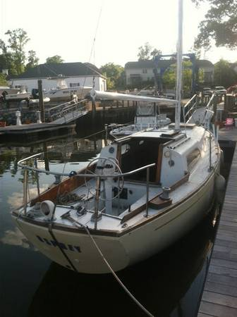 columbia 29 project boat