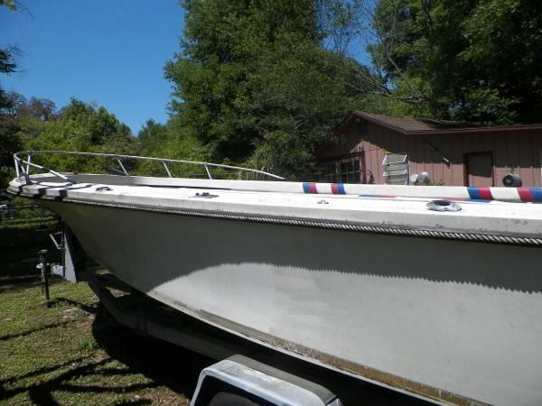 Cobia 21 side hull