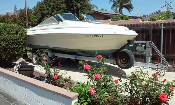 Free boat and trailer