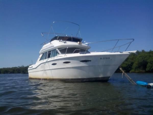 1986 searay 30 ft -  300  tampa fl