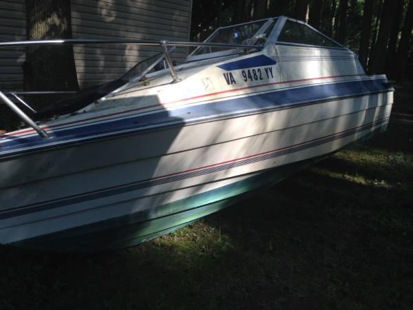 21 foot boat