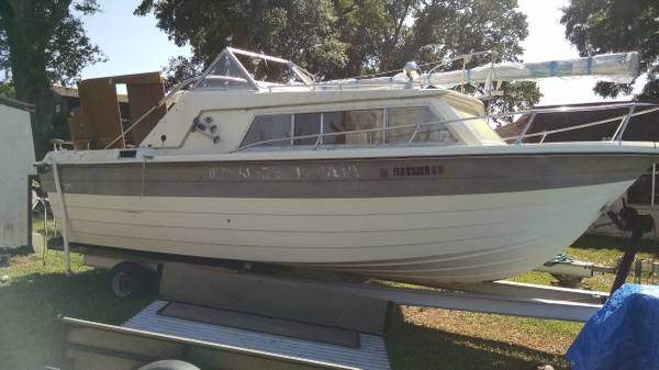 FREE 22ft Boat 1974 Mackinac