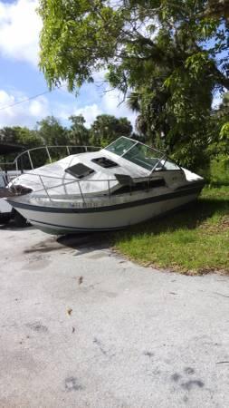 1984 26' well craft hull