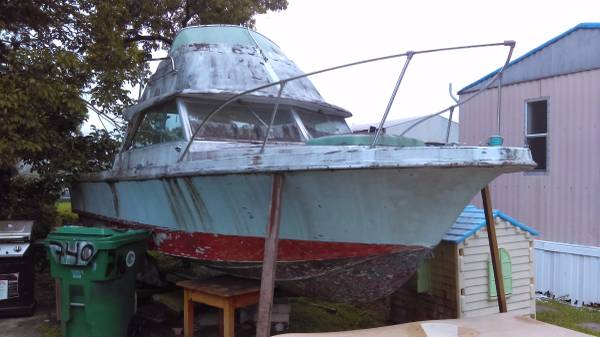 Free old boat for restore
