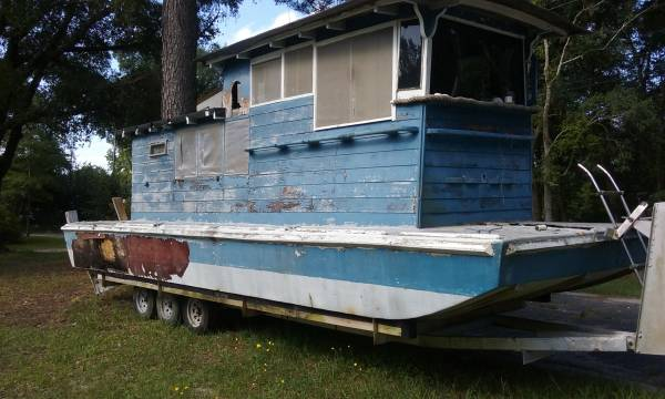 Houseboat for free