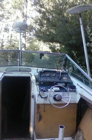 getting rid of this 31ft boat