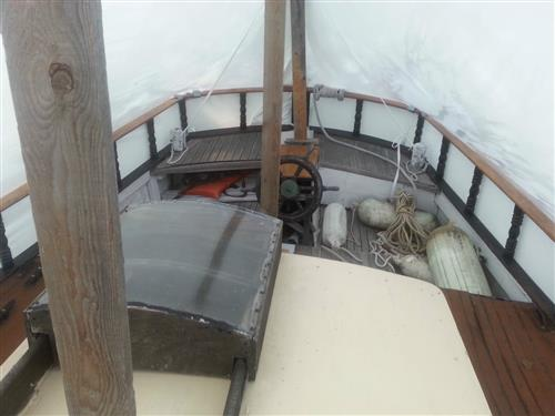 1970 Custom Colvin Design 37' Ferro Cement Sailboat beautiful on deck