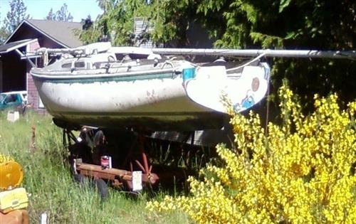 1969 Ericson Sailboat w Transporter