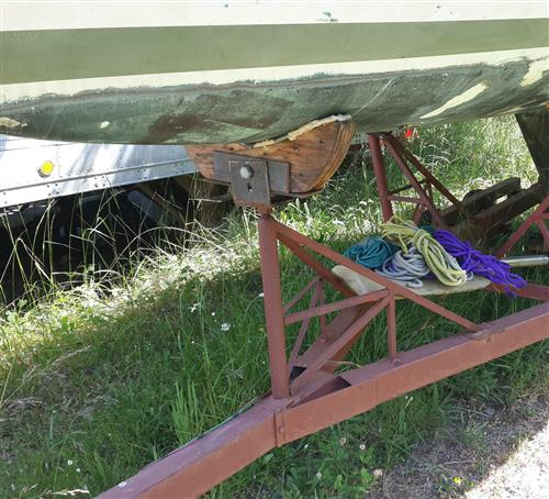 1969 Ericson transport trailer