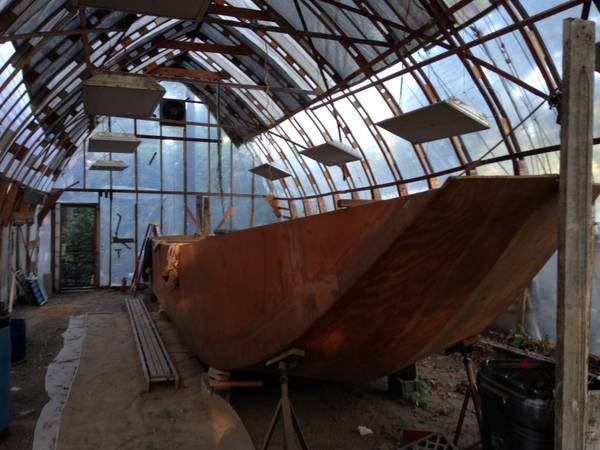 35 FOOT GARVEY BOAT HULL
