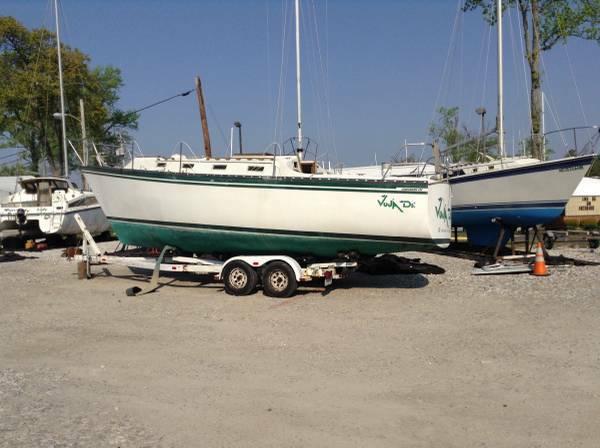 Sailboat Free for repairs