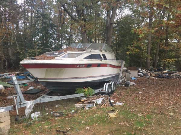 Free boat motor trailer