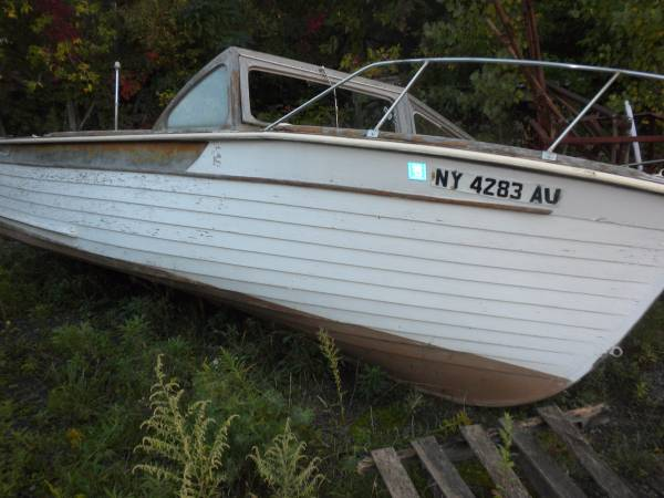 wood boat for free
