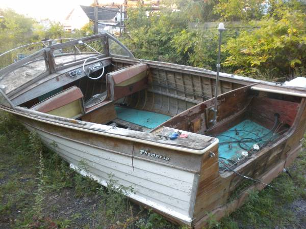 Thompson boat needs a lot of work
