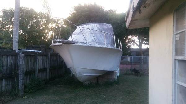 31 hatteras project hull