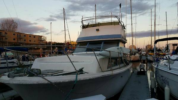 1974 Concorde Sportsfisher Marina Del Rey Ca Free Boat Com