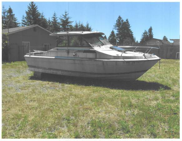 21-Foot Fiberglass Bayliner Boat
